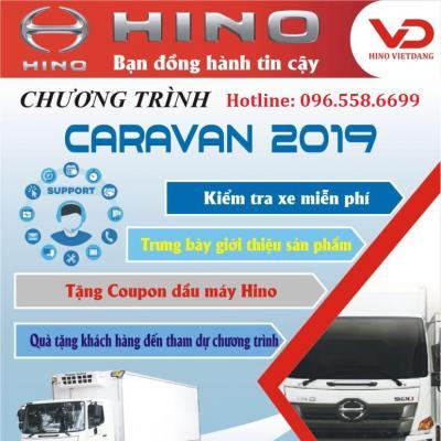 HINO VIỆT ĐĂNG - CHƯƠNG TRÌNH CARAVAN 2019 TẠI VĨNH PHÚC VÀ PHÚ THỌ