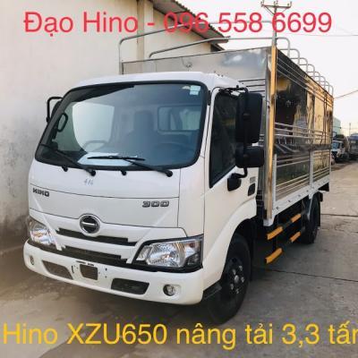 XE TẢI HINO 3,3 TẤN XZU650L THÙNG DÀI 4,5M