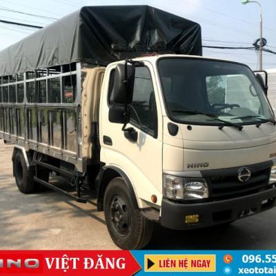 XE TẢI HINO XZU342L 5 TẤN THÙNG NGẮN 4.5M