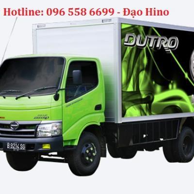 Khuyến mại Lệ phí trước Bạ và Tặng Bộ phụ kiện Cabin cho dòng xe Hino 300 Dutro Euro4
